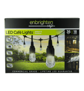 Enbrighten Cafe Lights by Jasco