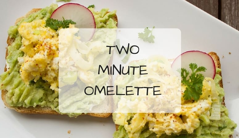 Two Minute Omelette