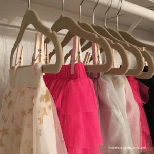 DIY Tutu & Skirt Hanger
