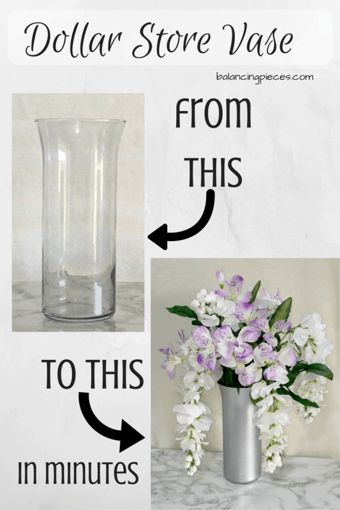 Dollar Store DIY Vase