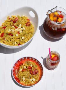 Delicious Summer Pesto Pasta
